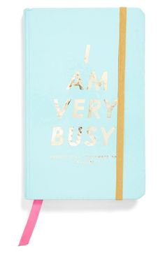 IN STOCK - Loving this 'I Am Very Busy' Planner! http://rstyle.me/n/myt55nyg6
