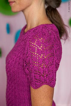 Ravelry: Merise pattern by Fiona Ellis Twist Collective spring/summer 2013 Cardigan Pattern, Sweater Knitting Patterns, Lace Knitting, Knitting Ideas, Crochet Shirt, Knit Crochet, Summer Knitting, Knit Picks, Lace Patterns