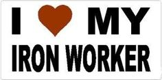 Iron Workers wives stickers | ironworker wife - Google Search