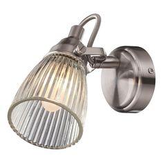VÄGGLAMPA MARKSLÖJD LADA STÅL/KLAR 40W E14 IP44 - Vägglampa Badrum - Badrumsbelysning - Inomhusbelysning - Belysning
