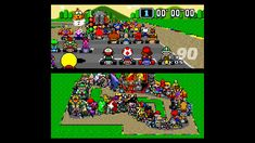 Super Mario Kart... with 101 players!