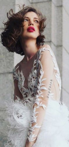 Beautiful Wedding Gowns, Strike A Pose, Pantone Color, Photography Poses, Elegant, Lady, Hunters, Fairytale, Feathers