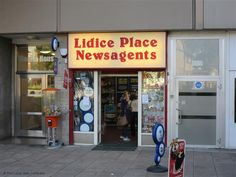 Lidice Place Newsagents - Coventry Coventry, Footprints, British Isles, Broadway Shows, England, Bohemian, Places, English, British