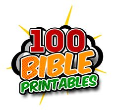 100 Bible Printables: Mazes, Coloring Sheets, Word Puzzles, Crosswords