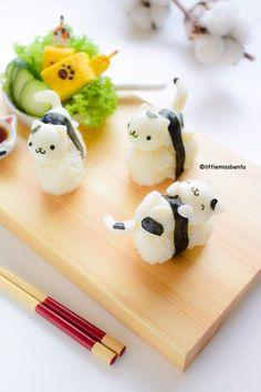 Quail Egg Kitty Sushi (4)