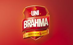 Brahma College ( Uni Brahma ) on Behance Typo Logo Design, Branding Design, 3d Logo, Packaging Design, Name Design, Text Design, 3d Design, 3d Typography, Lettering