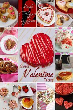 valentine's treats   12 Sweet Valentine Treats