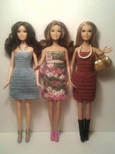 Life of the Party Barbie Trio by DuvallsDesigns on Etsy, $13.50