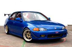 Modifikasi Honda Civic Genio 1993 Biru