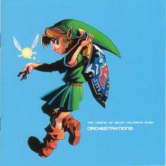 Album: The Legend of Zelda: Majora's Mask Orchestrations CD (2000)