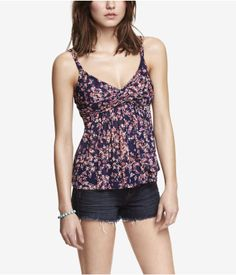 FLORAL TWIST TOP TANK | Express