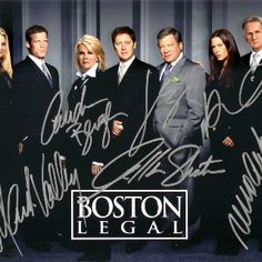 Boston Legal This show was must see TV for my husband and I very single week! We LOVED this show!! And we were very upset when ABC canceled it!