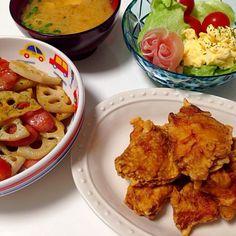 咲きさーん♡ 前回のつくフォトではまさかの分量間違い、大変失礼いたしましたーー(ll゚Д゚ノ)ノ うっかりさんなあたしですが、お約束通り?リベンジさせて頂きました♡♡ 今回は分量通りきちんと作りましたよー♪(笑) そして、とーっても美味しかったです⤴︎⤴︎(ㅅ´ ˘ `)♡  食べ友は最近、作られていたsakurakoさんと鬼のお面がインパクト大やったmiyuちゃんでお願いしまーす(ノ▽〃)  SDを初めて今日でちょうど2年♡ これからも仲良くしてくださいねー♡♡ - 132件のもぐもぐ - 咲ちゃんさんの料理 うちのザンギリベンジver!(笑) by momoririrennon