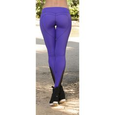 Roze Heart Butt LeggingPurple by NinaBRoze -- I wouldn't spend this much on leggings but they're cute. Photos of beautiful girls - on the beach, outdoors, in cars. Only real girls. Yoga For Men, Workout Leggings, Yoga Pants, Cool Girl, My Style, Heart, Women, Victorian Era, Fitness