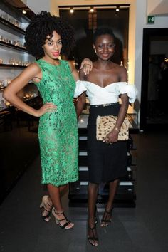 Solange's hair & dress - Modern Dress Hairstyles, Brown Fashion, Celebs, Celebrities, 15 Dresses, Dress Me Up, Passion For Fashion, Style Icons, Peplum Dress