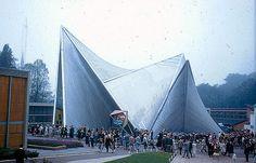 AD Classics: Expo '58 + Philips Pavilion / Le Corbusier and Iannis Xenakis
