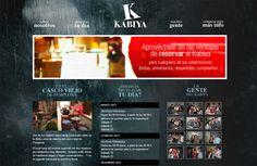 Desarrollo web y perfil de Facebook para el Kabiya, local de copas de Pamplona, con calendario de eventos, promociones, etc - Calle Mayor Comunicación y Publicidad