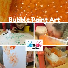 / , washing up liquid and water mix to creat colourful bubble art. Bubble Painting, Bubble Art, Online Painting, Eyfs, Mark Making, Underwater, Teaching Ideas, Bubbles, Activities