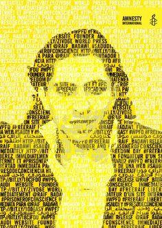 Le militant saoudien Raif Badawi © AI  Arabie saoudite : la flagellation de Raif Badawi est un acte d'extrême cruauté   Amnesty International France http://www.amnesty.fr/Nos-campagnes/Liberte-expression/Actualites/Arabie-saoudite-la-flagellation-de-Raif-Badawi-est-un-acte-extreme-cruaute-13848?utm_source=twitter&utm_medium=reseaux-sociaux
