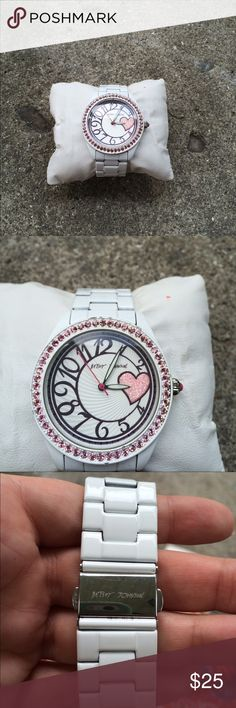 Betsy Johnson Watch Super cute watch. Gentle wear. Still in good condition! :) Betsey Johnson Accessories Watches