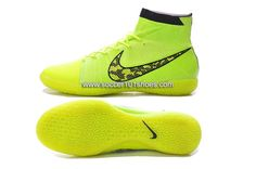 online store 0b493 d8f6f Nike Generic Mens Elastico Superfly Indoor IC Soccer Shoes Hi Top Football  Boots Fluorescent Yellow  73.00