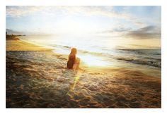 sunrise By margaret durow Footsteps In The Sand, Gustav Jung, Ocean Sounds, Heaven On Earth, Creative Photography, Amazing Photography, Daydream, Light In The Dark, The Dreamers