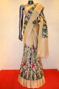 Tussar Silk Saree Product Code: AB212826 Online Shopping: http://www.janardhanasilk.com/index.php?route=product/product&search=AB212826&description=true&product_id=4322