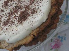 Chokladtårta med nötmarängbotten LCHF