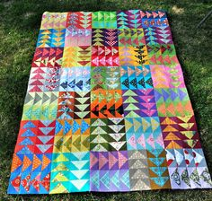 Fun with Barb: Flying Geese Quilt