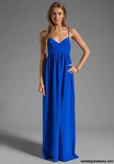 vestidos largos sencillos - Buscar con Google