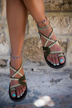 b6ea441a4 Gorgeous handwoven summer sandals. Must have! Cute Sandals