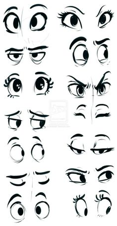 How to draw cartoon eyes? Yes, it is very easy to draw cartoon eyes. The eyes are among the most important features for any cartoon. Drawing Eyes, Drawing Sketches, Pencil Drawings, Sketching, Cartoon Eyes Drawing, Cartoon Sketches, Eye Sketch, Drawing Art, Drawing Cartoons