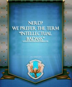 Truth. Ravenclaws for life. #Pottermore