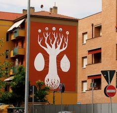 Italia.- El street art se ha convertido en un recurso visual muy atractivo para los anunciantes cuando se trata de comunicar con publicidad exterior. Aquí una