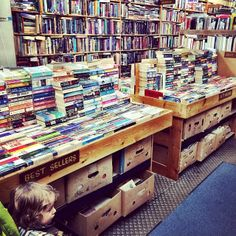 Just the greatest little small town bookstore ever #penticton #booksformiles