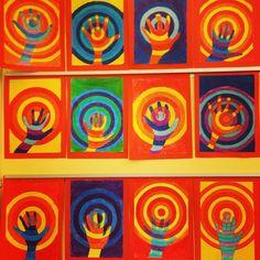 Kunst-Skaplig talt Arts And Crafts, Painting, Education, Hands, Kunst, Creative, School, Painting Art, Paintings