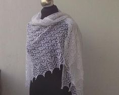 hand knitted shawls and scarves for all seasons by DagnyKnit Knitted Shawls, Hand Knitting, Scarves, Etsy Seller, Seasons, Unique, Fashion, Knit Shawls, Scarfs