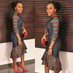 Top Ten Beautiful Ankara Styles Gown For Ladies - Dabonke : Nigeria Latest Gist and Fashion 2019 African Print Dresses, African Print Fashion, Africa Fashion, African Fashion Dresses, African Dress, Ankara Fashion, African Prints, Men's Fashion, Fashion Outfits