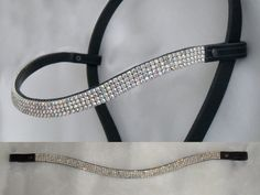 How to make mega bling browbands for horse bridles VIDEO