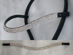 How to make mega bling browbands for horse bridles VIDEO