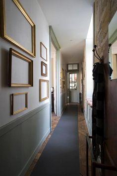Decoracion de pasillos estrechos decoraci n zonas de for Pasillos decorados con vinilos