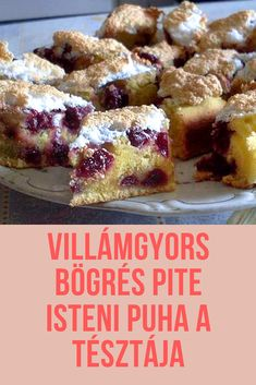 Hungarian Desserts, Hungarian Recipes, Croatian Recipes, Banana Dessert, Dessert Bread, Fun Easy Recipes, Sweets Recipes, Cookie Desserts, Cookie Recipes