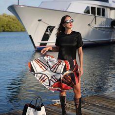 Do you wanna sail with me? ⛴⚓️ #fashionmy❤️ wearing @louisvuitton