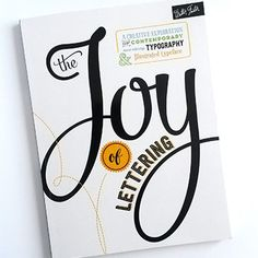 I've got a special treat for all the hand lettering fans out there. Today I'm showing you a peek into this new lettering book called The Joy of Lettering by Gabri Joy Kirkendall and Jaclyn Escalera. The Joy of Lettering is a creative exploration of contemporary hand lettering, typography and illustrated typeface. I wrote a …