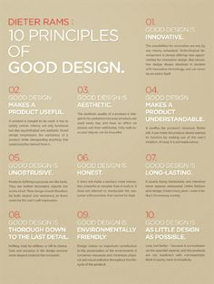 we've read Dieter Rams's 10 commandments...