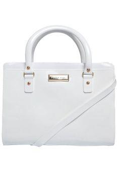 0a44bf7e95 Bolsa Petite Jolie Bolso Branca