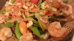 Food and Wine by Jules: Thai Shrimp Peanut Salad
