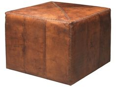 Jamie Young Company Large Tobacco Ottoman