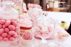By Atmosfera Decor © Pink, wedding, decoration, flowers, candy bar, cupcake