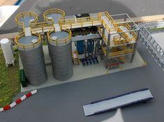 Check out N Scale Chemical Storage Installation by Ngineer on Shapeways and discover more 3D printed products in Scenery.